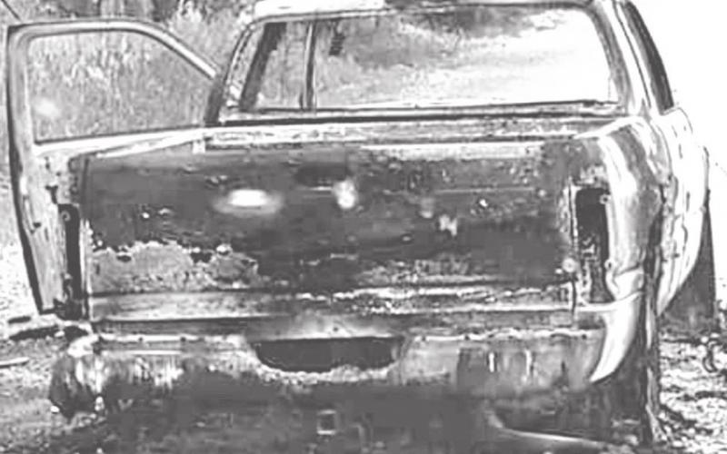 INFORMATION SOUGHT IN VEHICLE FIRE